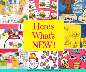 What's New From A Plus Teacher Club website header image