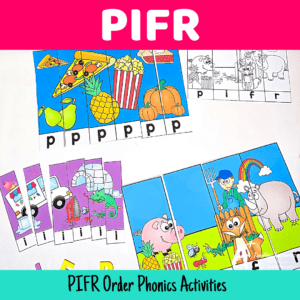 PIFR Sequence Phonics Games For Kids