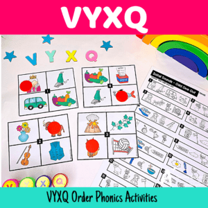 VYXQ Phonics Resources For Teachers